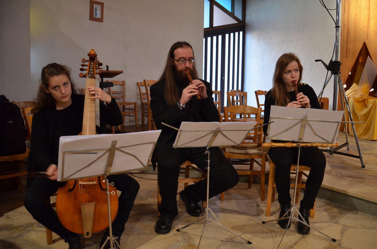 Concert à Saint-Jean-Bosco le 11 décembre 2016 : Consort Quintessence
