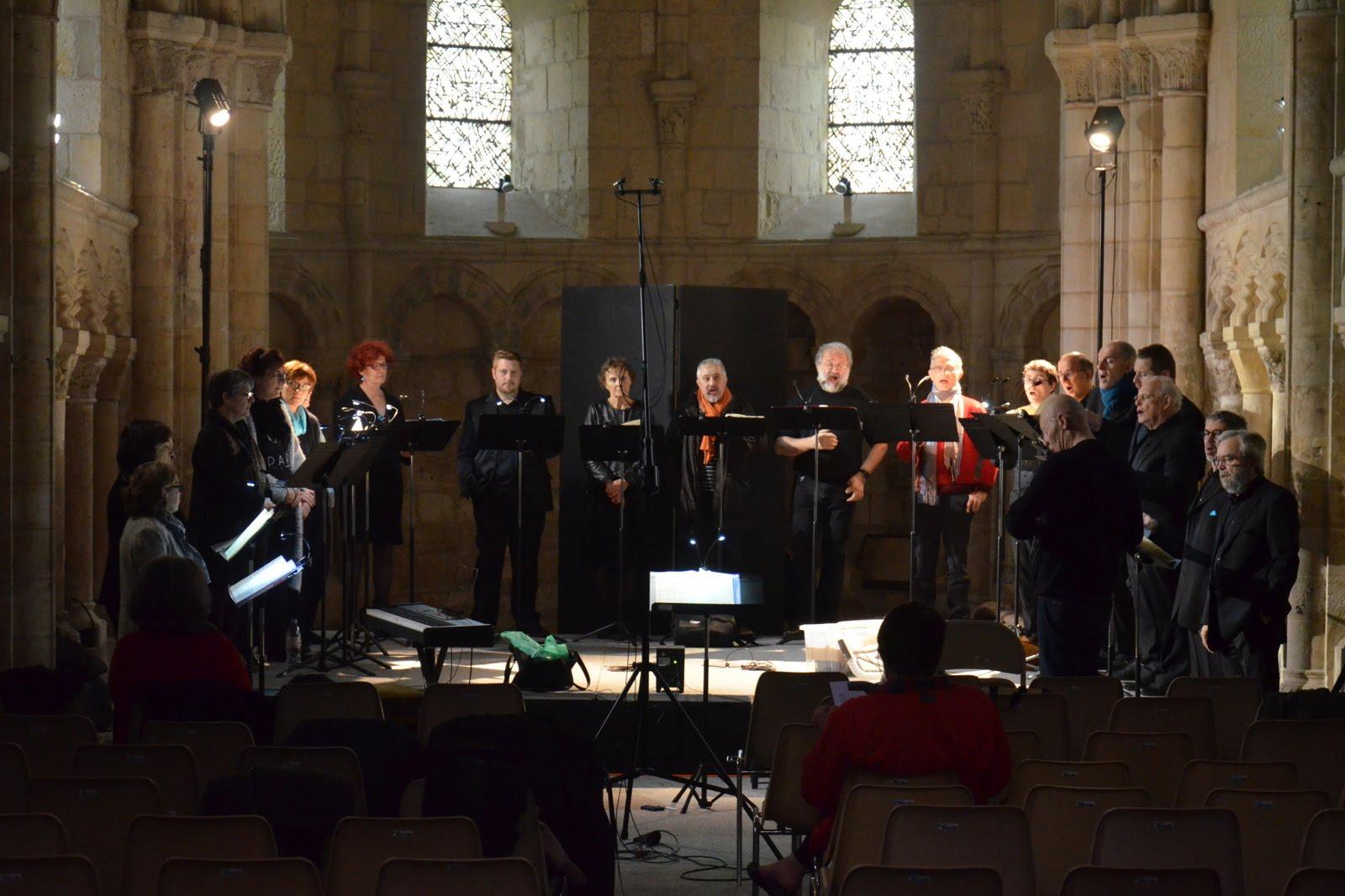 Répétition en la chapelle Saint-Julien