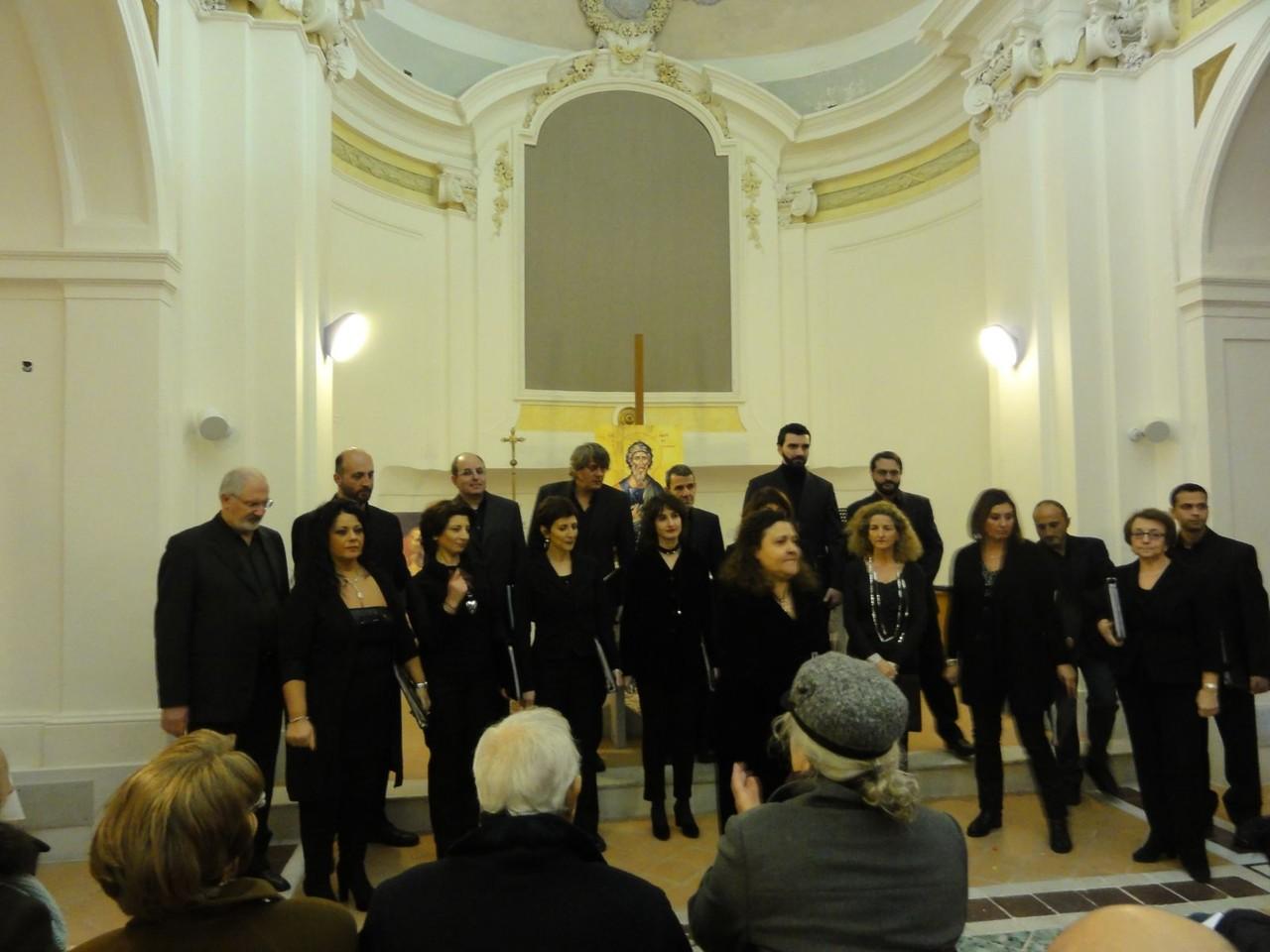Coro Polifonico Casella - Salerne, Italie