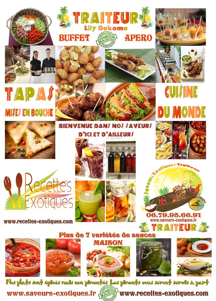 Restaurant traiteur exotique sp cialit s afro antillaises for Restaurant cuisine du monde paris