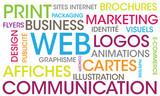 création graphique, logo, cartes de visites, cartes d'invitation, logo, flyes, dépliant création site internet