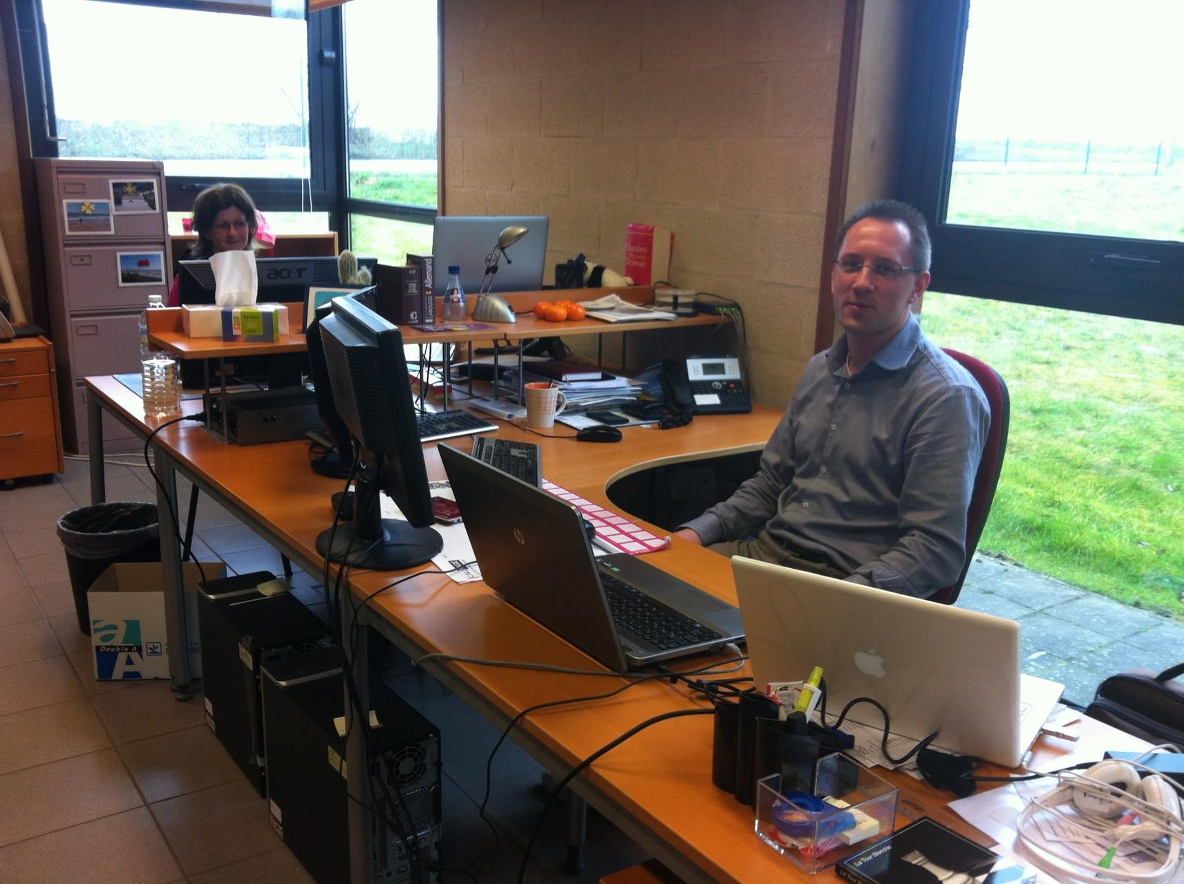 PC技術面での顧客サポートをするお部屋
