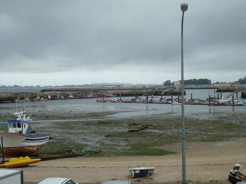 Cambados, marea baja