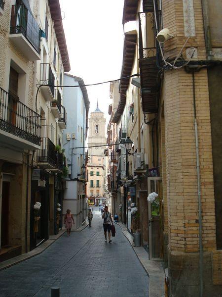 Huesca, sus calles