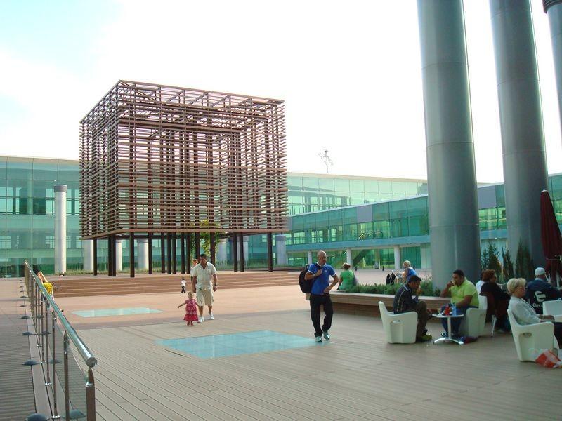 Interior T 1 Aeropuerto del Prat