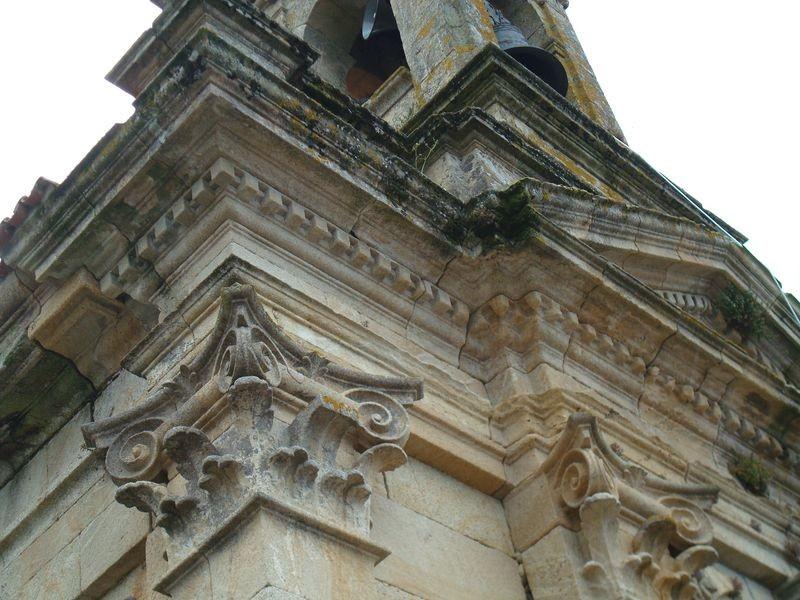 Detalle Iglesia de Carnota