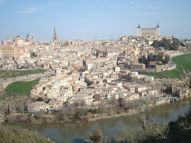 Vista del Toledo histórico