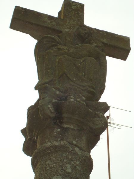 Portonovo, Cruceiro, detalle