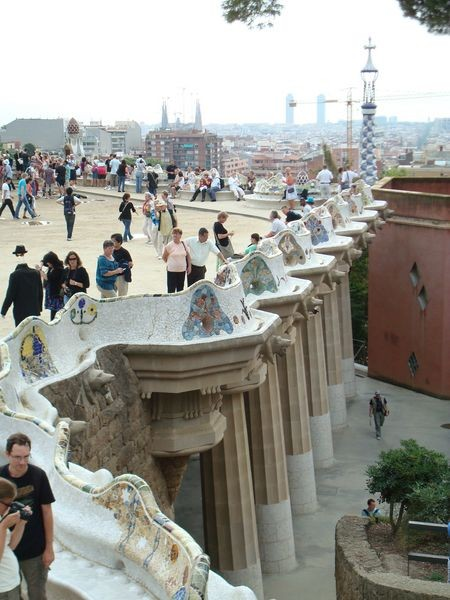 Vista lateral de la Plaza