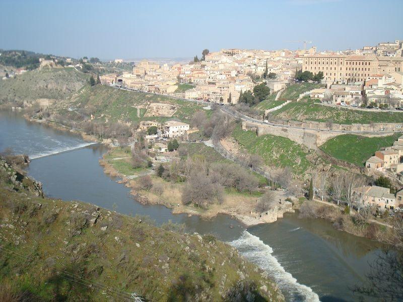 Vista del Toledo histórico SO