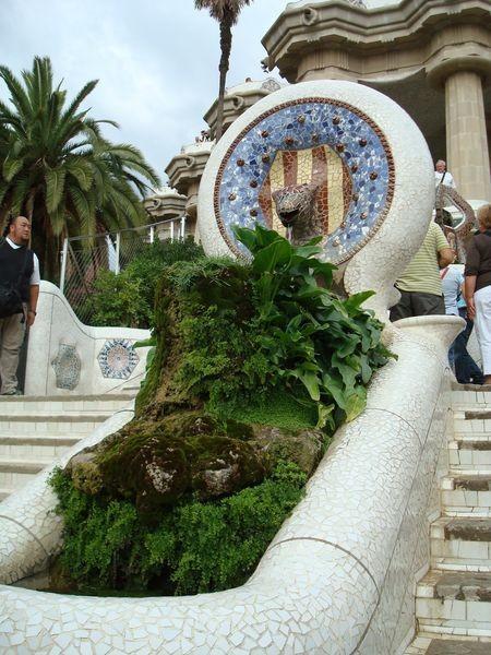 Fuente de la Escalinata