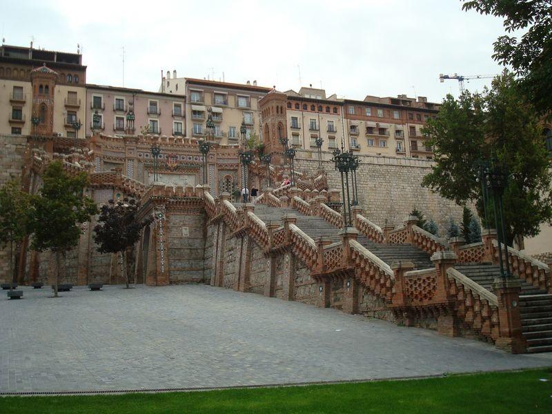 Teruel, escalera neo mudejar