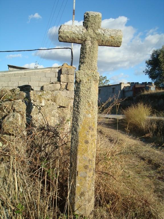 Lagartera (Toledo), cruz simple camino a Oropesa