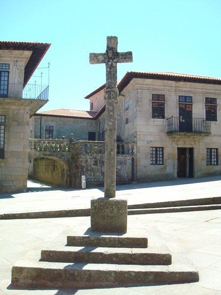 Cruceiro en Pontevedra, Plaza de La Leña