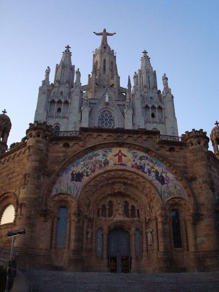 Tibidabo, Templo del Sagrado Corazón