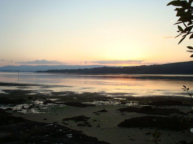 Vista de la Ría desde Bamio