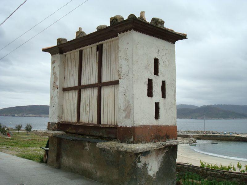 Horreo en Puerto de Vares