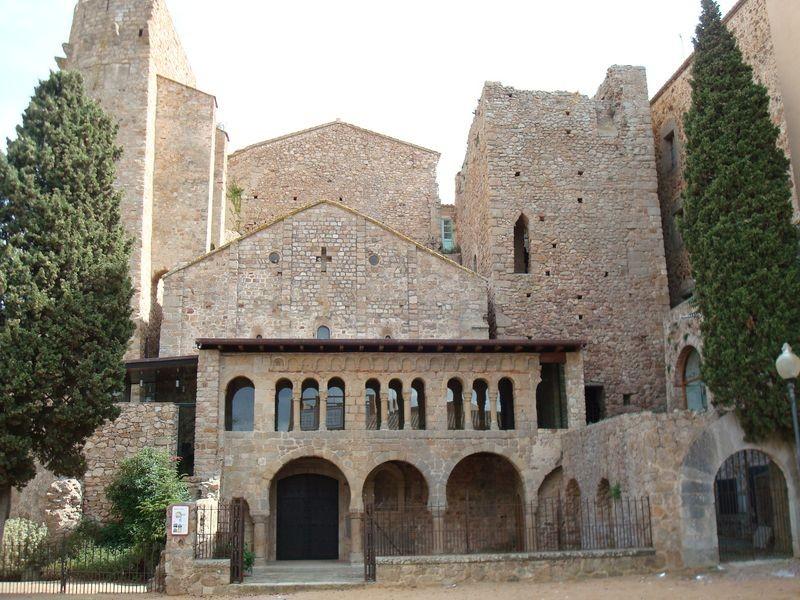 San Feliu de Guixols, conjunto monumental del Monestir