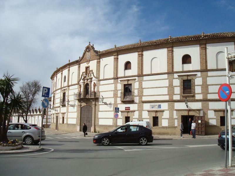 Fachada de la Plaza de Toros