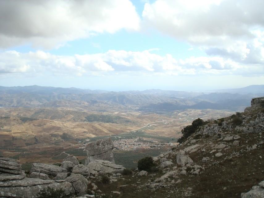 Vista desde >Mirador de Las Ventanillas