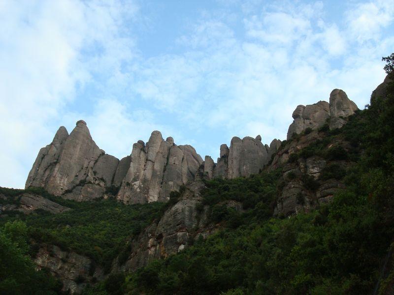 Montserrat, vistas macizo