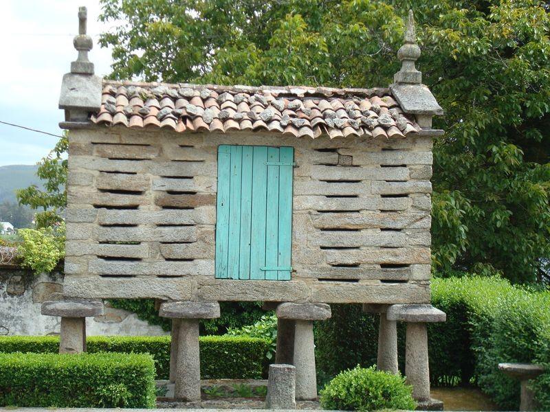 Horreo en Corcubión