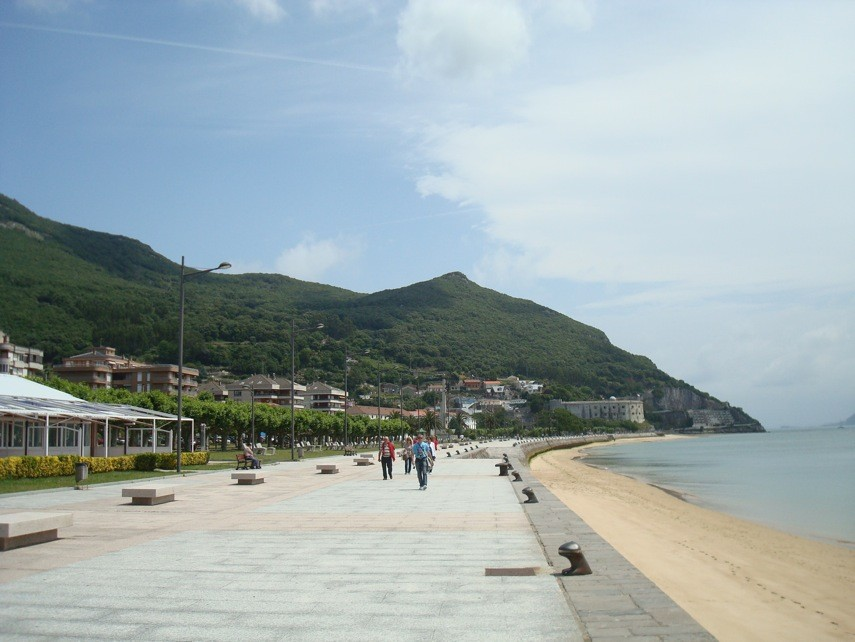 Santoña, paseo marítimo