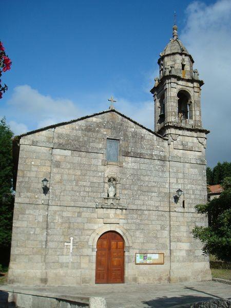 O Grove, iglesia parroquial S. Martiño