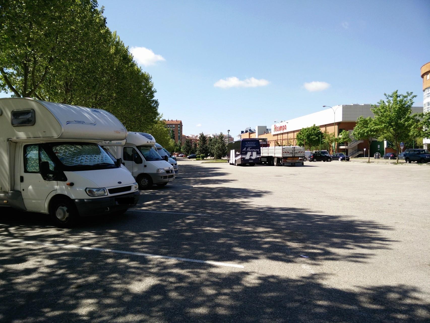 vista aparcamiento
