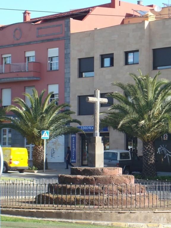 Cruz de Piedra San Cristobal de La Laguna (Tenerife)