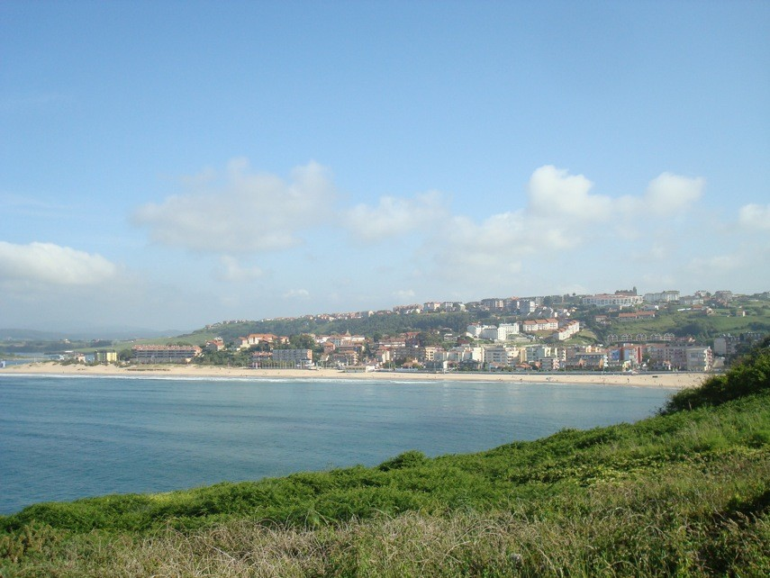 Suances, vista