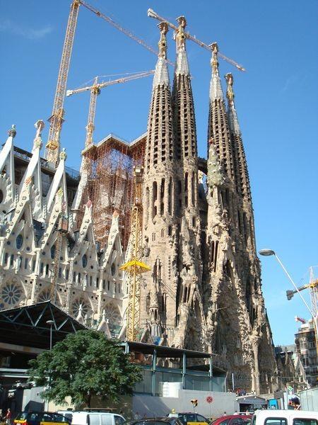 Temple de la Sagrada Familia, fachada del Nacimiento