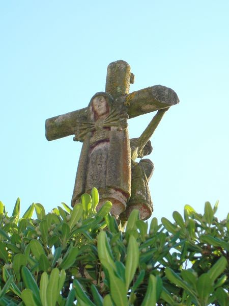 O Grove, Cruceiro Iglesia parroquial S. Martiño, detalle