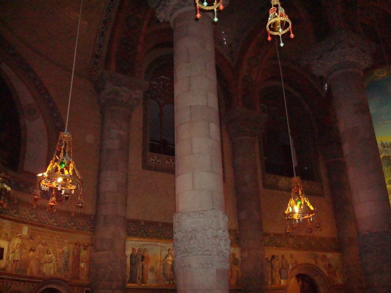 Tibidabo, Templo del Sagrado Corazón, interior