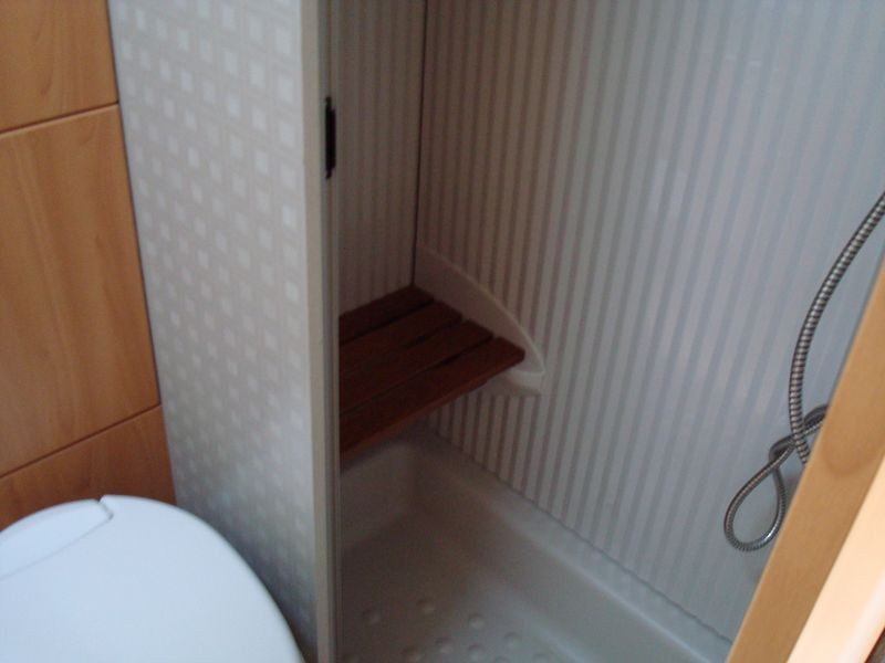 Aseo, cabina ducha
