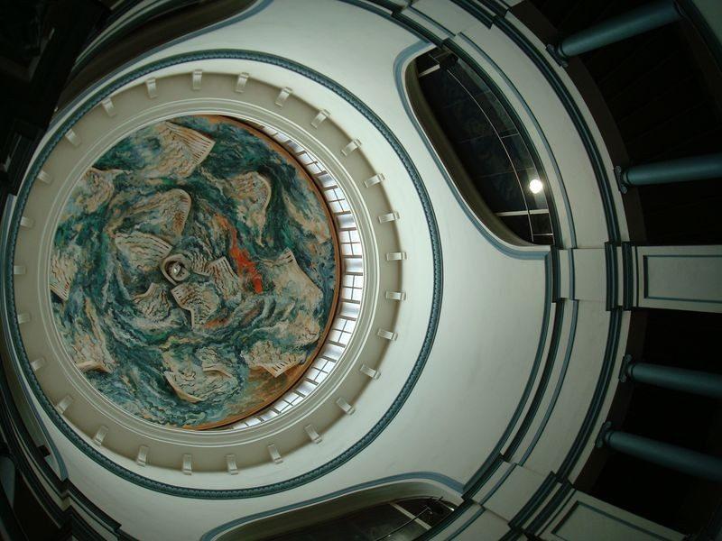 Teatre mercat de Les Flors, cúpula Berceló