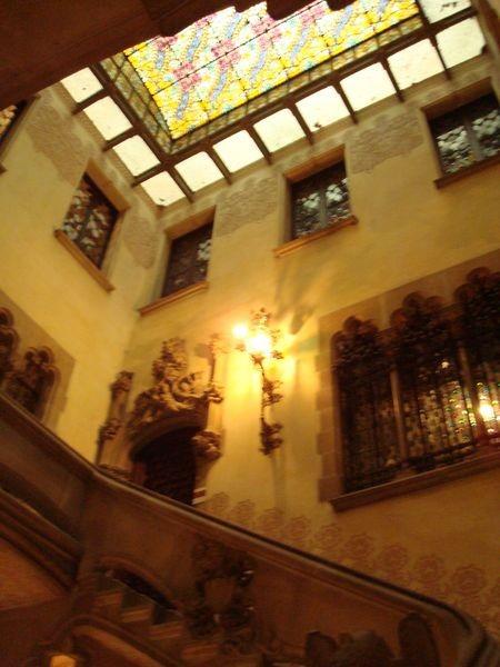 Escalera Casa Amatller