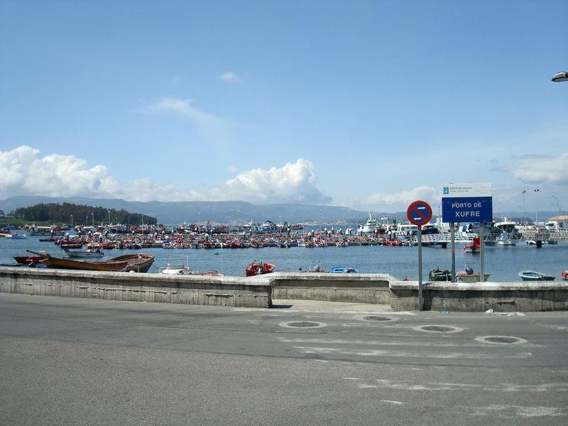 Ila de Arosa, puerto de Xufre