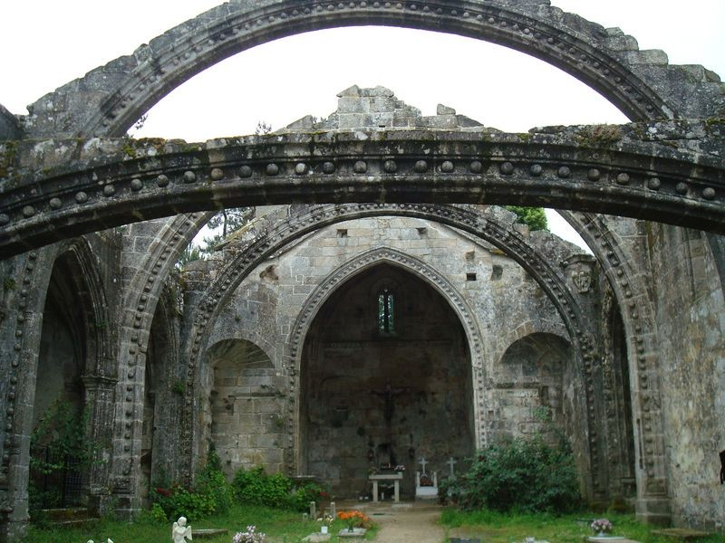 Cambados, ruinas de Sta. Mariña Dozo