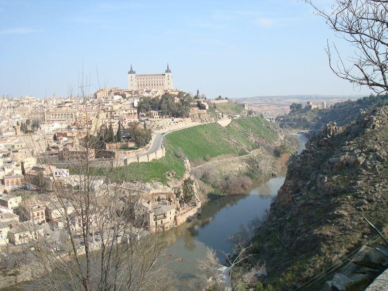 Vista del Toledo histórico NE