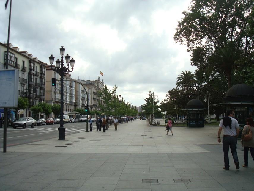 Santander paseo marítimo