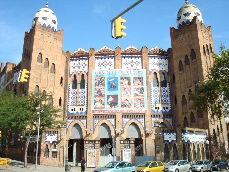 Plaça de toros Monumental, entrada