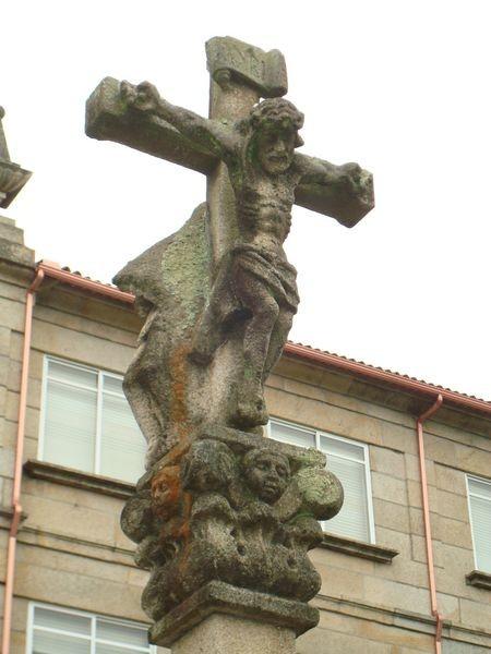 Ctra. Cambados -O Grove, Salesianos, Cruceiro
