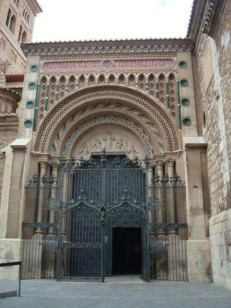 Teruel, entrada Catedral