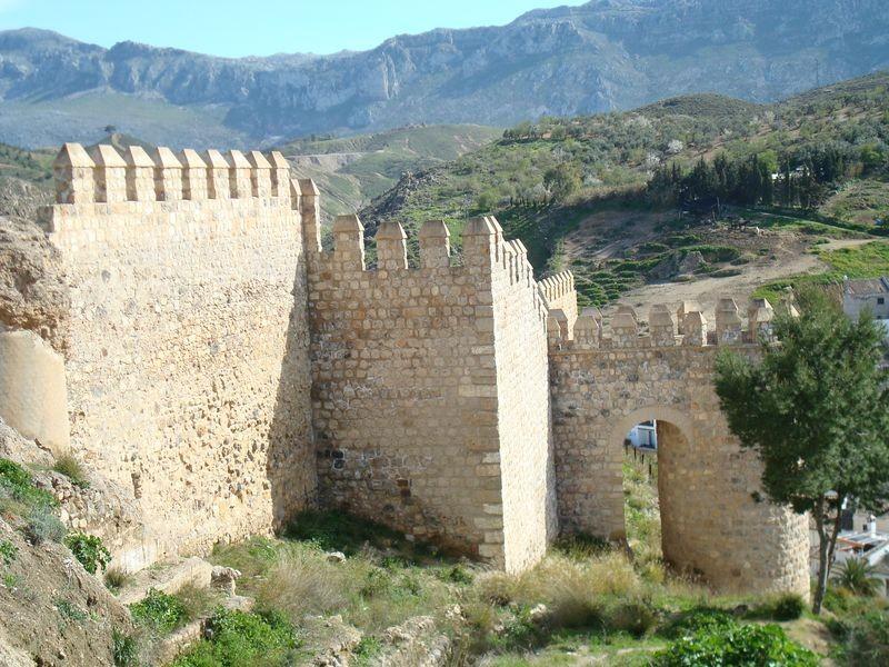Lienzos de La Alcazaba