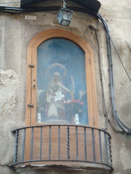 Girona, hornacina