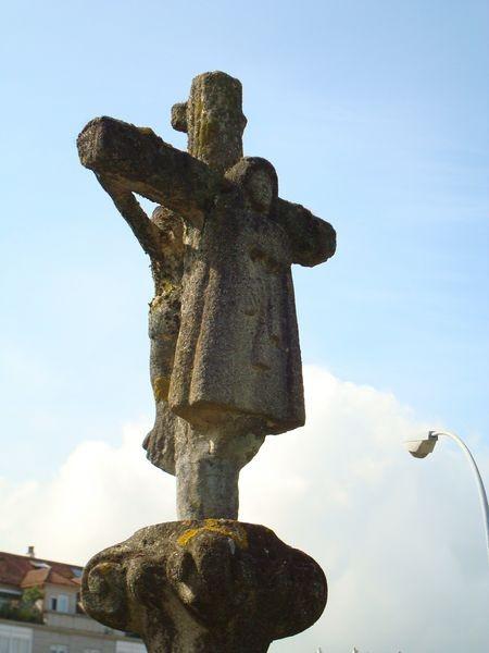 Cruceiro en Porto de Vilagarcia de Arosa (detalle)