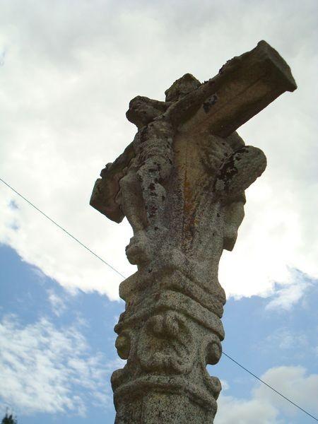 Cruceiro en Campanario, Bamio, Vilagarcia de Arosa  (detalle)
