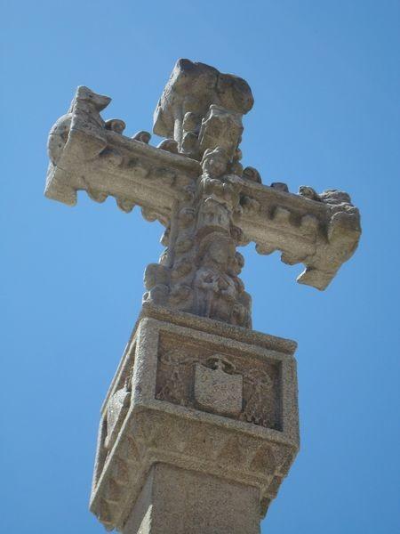 Cruceiro en Pontevedra, Plaza Alonso de Fonseca, detalle