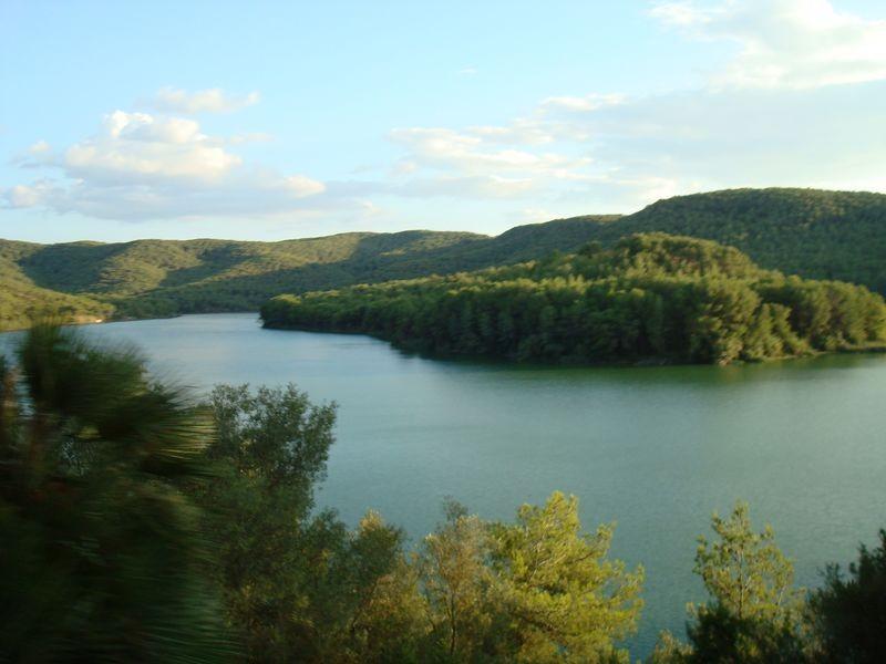Castellet (Alt Penedés) rio Foix